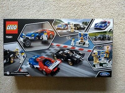 LEGO SPEED Champions 2016 Ford GT & 1966 Ford GT40 2017 (75881) New ...
