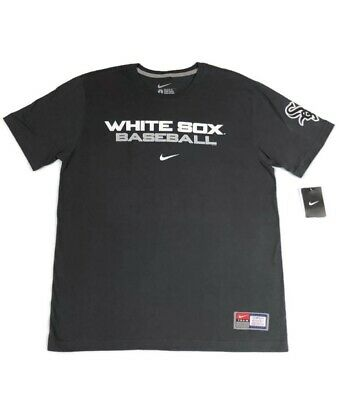 new appearance meet super popular CHICAGO WHITE SOX Nike MLB TeamTee NWT (Anthracite) Men's Size ...