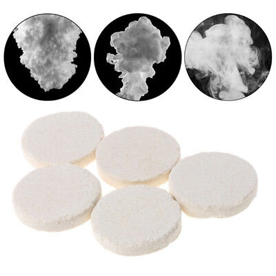 10pcs White Smoke Cake Effect Show Round Bomb Photography Aid Toy Gifts QW
