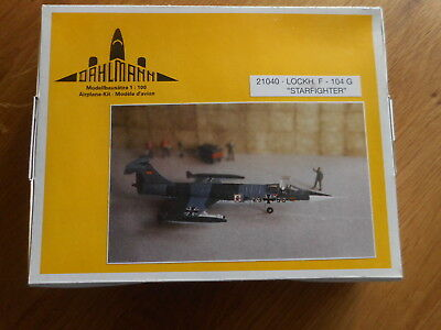 Lockheed F-104G Starfighter von Dahlmann in 1:100