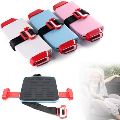 Portable Car Booster Seat Safe chair Sturdy Baby Child Kid Children 3-12 Years