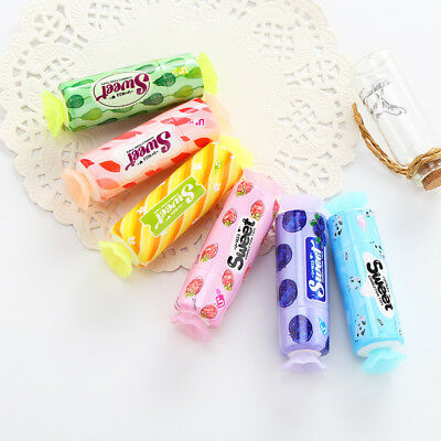 1pc Cute Candy Modelling Correction Tape Students School Corrector Tools