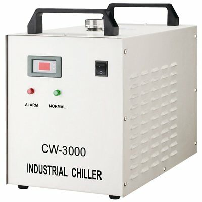 CW-3000DG Thermolysis Type Industrial Water Chiller for 60 / 80W Laser Engraving