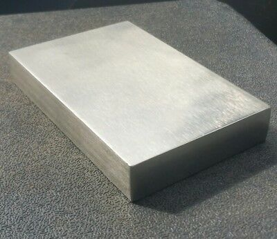Solid Stainless  Steel Bench Block 4X3X3/4