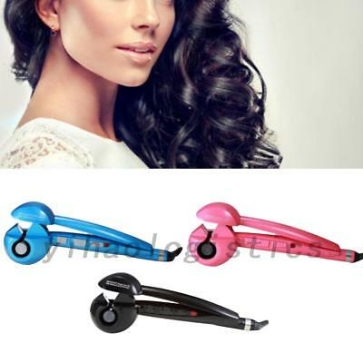 Pro Magic Automatic Curling Hair Curler Iron Curl Wave Machine Ceramic New US YH