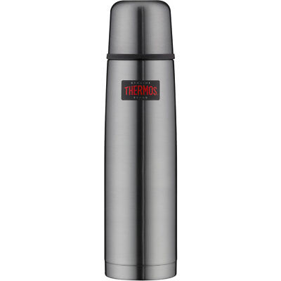 Thermos Isoflasche Light&Compact 1L cool grey Outdoor & Camping