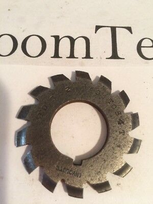 """#3 20P 35154T 7/8"""" Brown And Sharpe Involute Gear Cutter (NEEDS SHARPENING)"""
