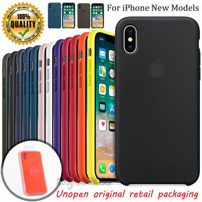 Original Silicone OEM Ultra-Thin Case Cover For Apple iPhone XR Max 8 7 Plus