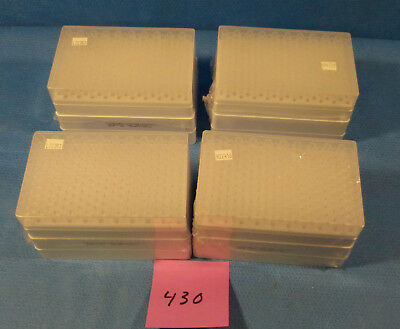 4X RACKS OF 200 TYCO /KENDAL HEALTHCARE 5- 200uL PIPETS GEL ROUND