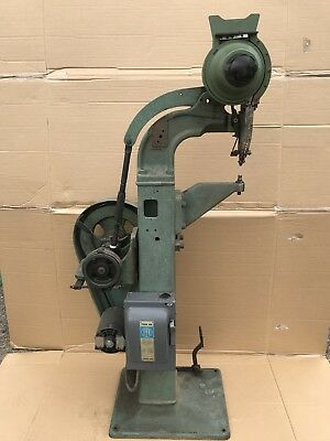 Standing Automatic Rivet Machine Tubular Rivet & Stud Co Mod 81 Two Heads