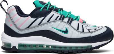 cc55596883 Nike Air Max 98 South Beach Tidal Wave Pure Platinum Obsidian 640744-005