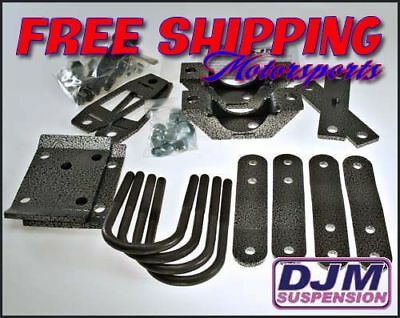 """2007 - 2014 Toyota Tundra 5"""" Rear Complete Lowering Kit by DJM"""