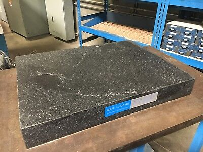 "W.F. Long Granite Surface Plate 18"" x 24"" x 3"" No Ledges + Stand"