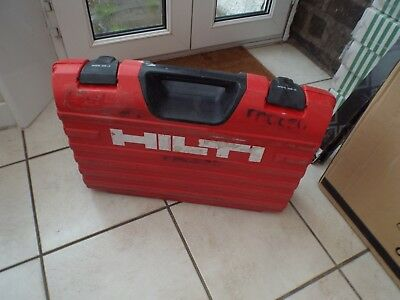 Hilti Wsr 36-A Reciprocating Saw Case Box Instruction Manual Book C4/36 Charger