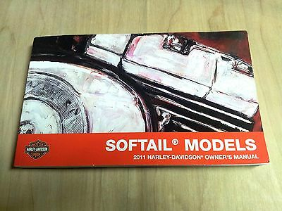 2011 Harley Davidson NEW Softail Models Owner's Manual 99469-11A