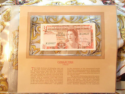 Most Treasured Banknotes Gibraltar 1 pound 1979 P20b UNC Prefix K12
