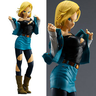 Anime Dragon Ball Z Figure Jouets Android 18 Figurine Statues 25cm