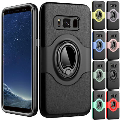 Shockproof Rugged Car Holder Case Cover For Samsung Galaxy S8 S7 J3 J5 J7 Note 8