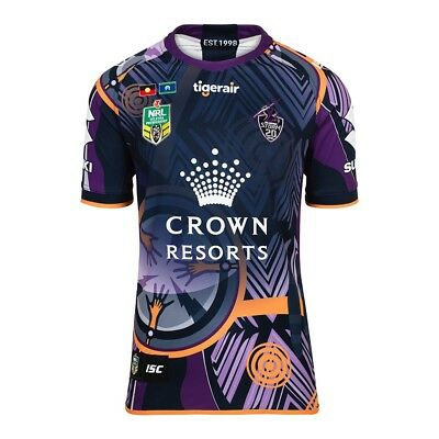 Melbourne Storm 2018 NRL ISC Indigenous Jersey Mens Sizes S-5XL & Kids Sizes!
