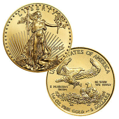 2018 $5 1/10 Ounce Gold American Eagle BU