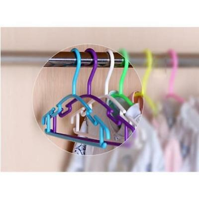 1Pcs Plastic Clothes Hanger Kids Children Toddler Baby Clothes Coat Hangers ATP