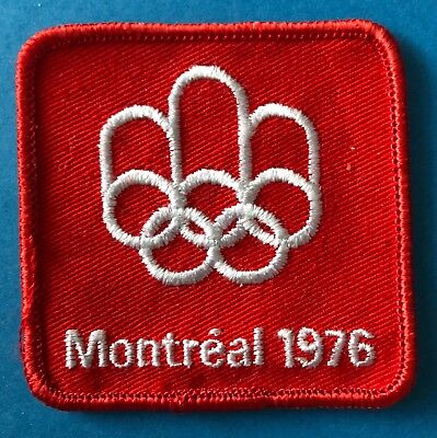 69fed4cdd5e Rare 1976 Olympic Summer Games Montreal Canada Hat Hipster Jacket Patch  Crest A