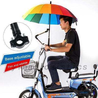 Adjustable Baby Stroller Chair Bicycles Motorcycle Umbrella Holder Two Patterns