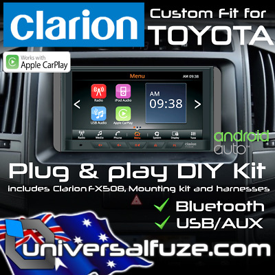 Clarion Apple Car Play Android Auto for Toyota