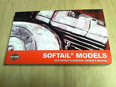 2014 Harley Davidson USED Softail Models Owner's Manual 99469-14