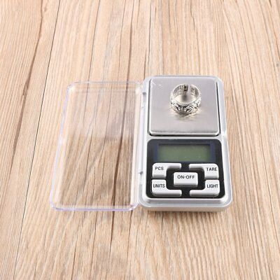 Stainless steel 500g 0.1g Digital Electronic LCD Jewelry Pocket Weight Scale VG