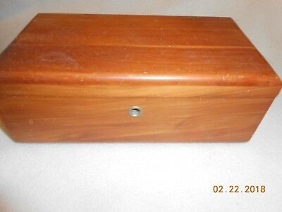 Vintage Lane Furniture Small Cedar Chest Wood Trinket Jewelry Box Cohen Peoria-P