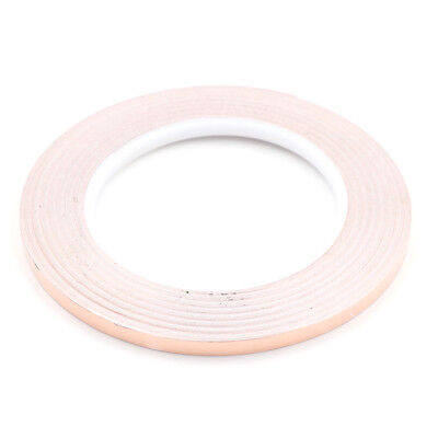 1pc 6mm*30m Copper Foil Shielding Mask Conductive Adhesive Tape LJ0