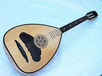 Greek Wenge Laouto Laghouto Lavta String Instrument
