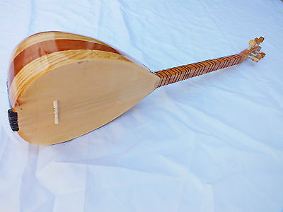 Sweetyp: Turkish String Small Size Cura Saz With Pick Up Free Case New