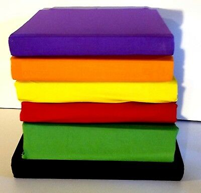 BOOK COVERS Stretchable Fabric Jumbo Size Book Cover, Assorted COLORS Pack of 6