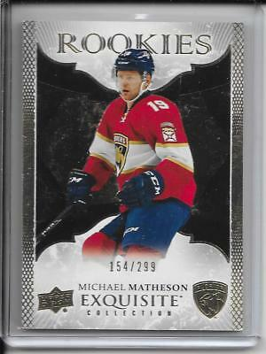 16-17 Exquisite Collection Michael Matheson Gold Rookie # R24 #d/299