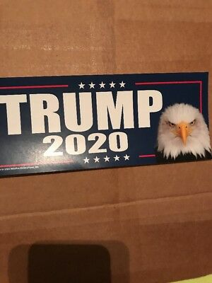 TRUMP 2020 FOR PRESIDENT STICKERS Eagle 45th USA