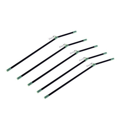 5pcs Anti Tangle Booms avec Snap Forte, Rampes de Pêche Lumineuses Bent