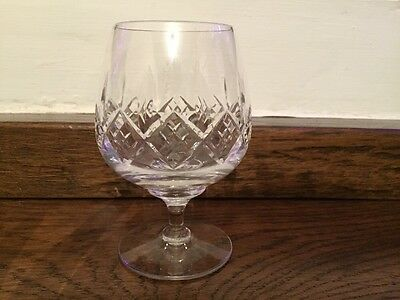"Stuart Glengarry Cambridge Brandy balloon glass. 4 3/4"". second Quality"