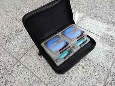 Case  Tasche Minidisc + 16 Minidisc Sony color