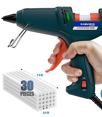 DIY Glue Gun Art Craft Home Office Repair Professional Tool w/ 30Pcs Glue Stick