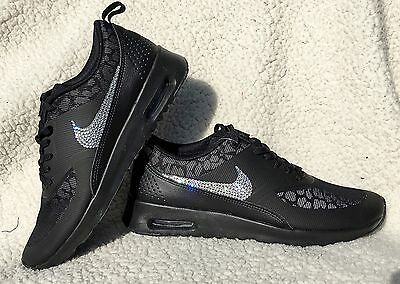 NEW BLING NIKE Air Max Thea With Swarovski Crystals EUR