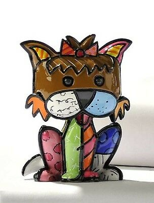 *NEW IN BOX* Romero Britto Mini Terrier Dog 331385 by Giftcraft 1ST Edition