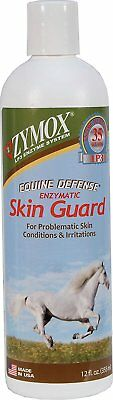 Zymox Equine Skin Guard Bottle for Horse Skin Conditions 12 oz