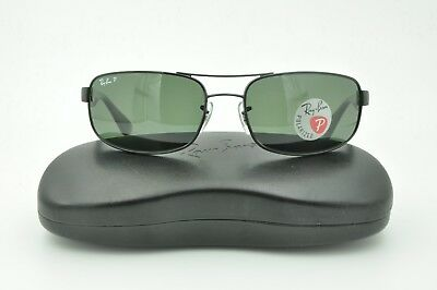 9560ca8fcf Ray Ban RB 3445 Sunglasses 002 58 Black   Green Polarized Lenses 61mm