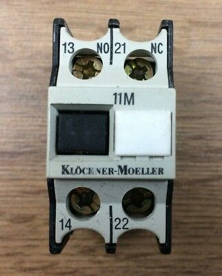 Klockner Moeller 11Dilm Auxilliary Contact Block