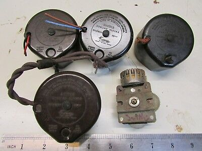 Smiths SEC Electric Mantle Clock Movement  x 5