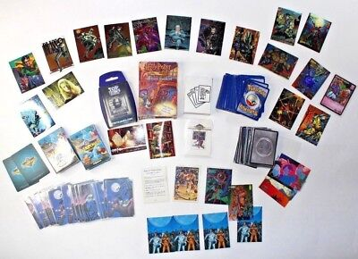 HUGE 90s TRADING CARD LOT: Pokemon Harry Potter Overpower Smith Bones Star Wars