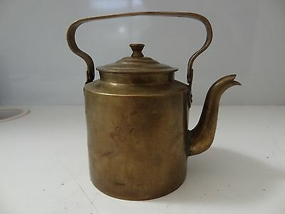 VINTAGE MONGOLIAN BRASS SMALL POT KETTLE FROM 60's