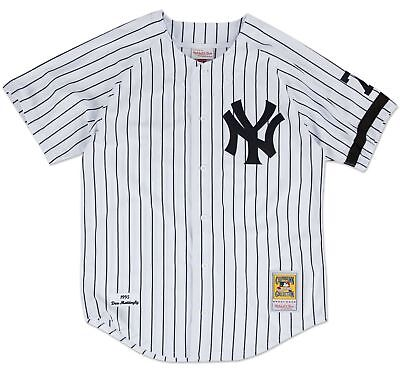 be8c22098 ... buy don mattingly new york yankees mitchell ness authentic mlb 1995  home jersey 528c5 a77eb